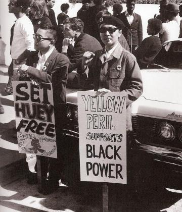 yellow-peril-Black-Power-sign